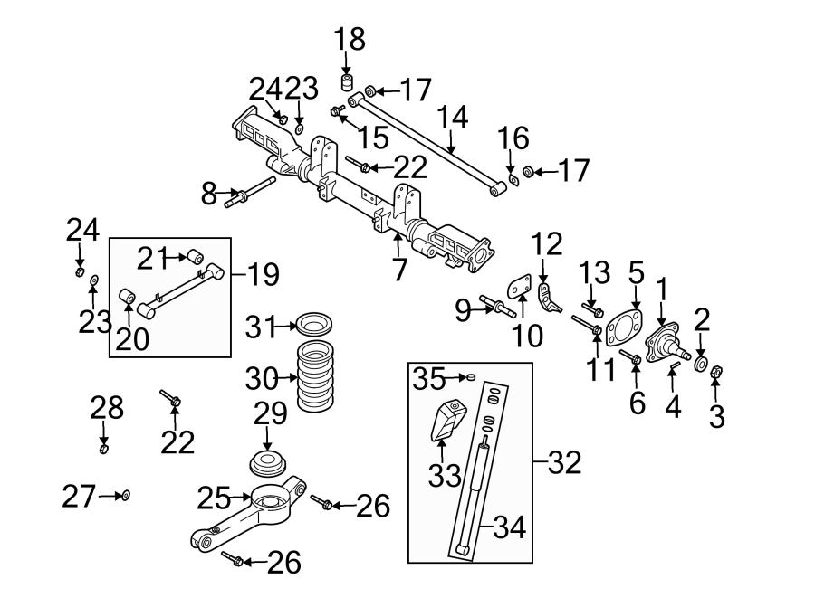 Kia Sedona Suspension Subframe  Rear   Sedona  W  Abs  From