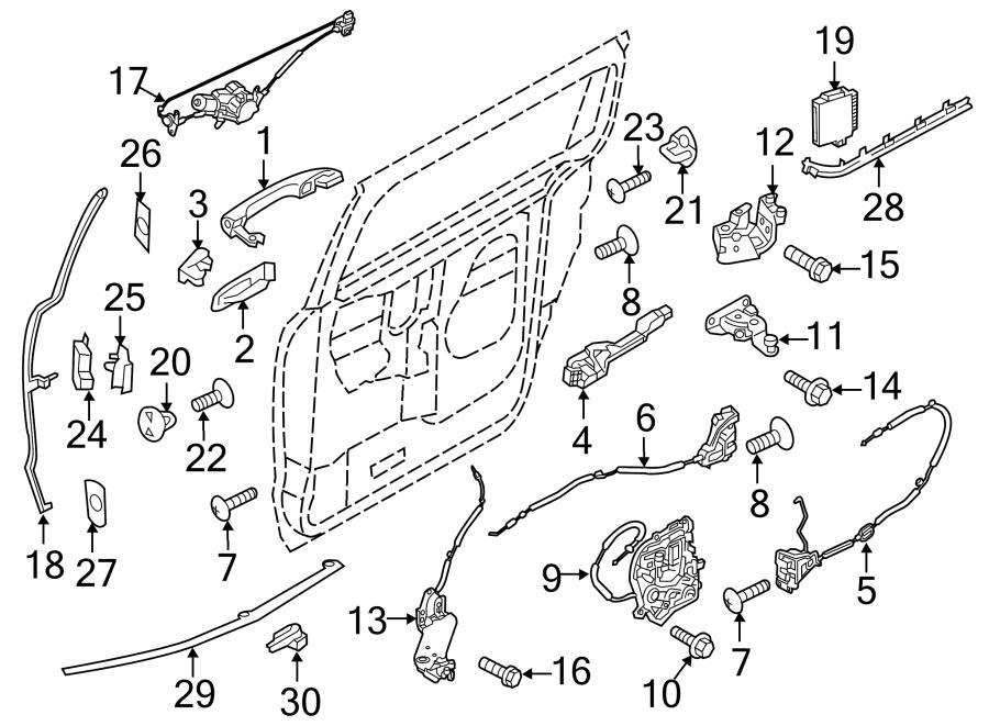 kia sedona door lock diagram