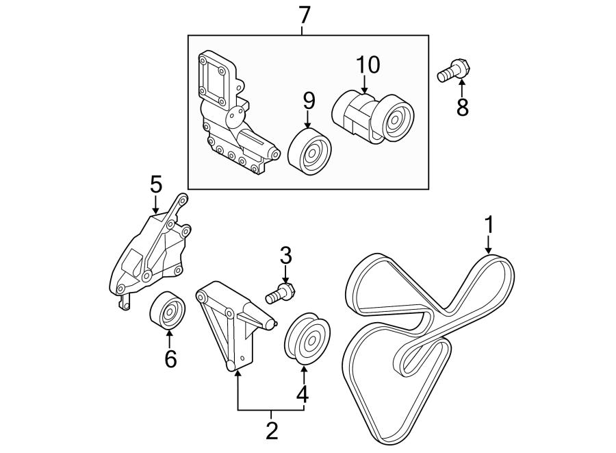2010 Kia Forte Serpentine Belt Diagram