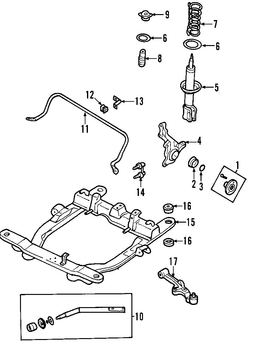 Kia Sedona Steering Knuckle  Left   Abs  Suspension