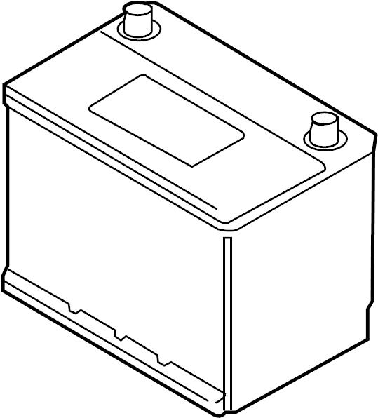Kia Sedona Battery  3 8 Liter  60 Amp  Us Build  68 Amp  Trans  Electrical