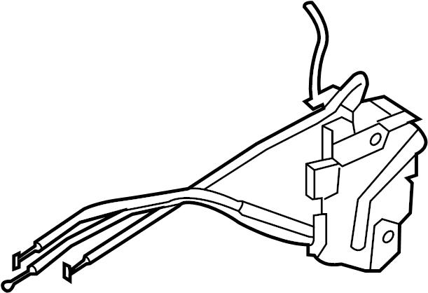 Kia Soul Lock Latch Actuator Left Front Door Motor