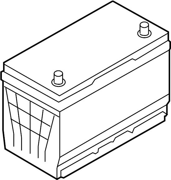 Kia Sedona Battery  3 8 Liter  60 Amp  Us Build  68 Amp