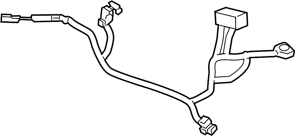 918501m230 - kia battery cable  wiring assembly
