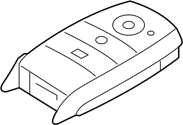 2015 kia forte keyless entry transmitter  forte  smart key components