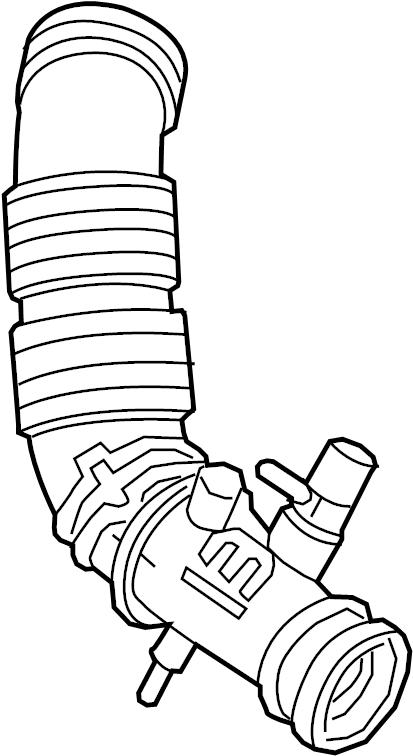 282111w150 - Kia Engine Air Intake Hose  Duct
